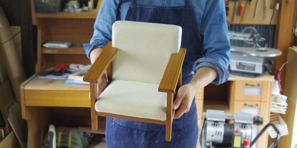 ぬいぐるみ用の椅子